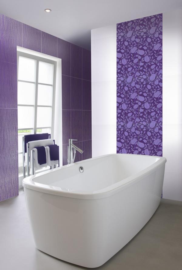 Ostalo for Carrelage salle de bain couleur mauve
